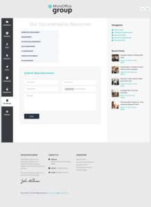 Micro Office Intranet and Extranet WordPress Theme Review