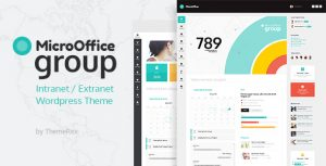 Micro Office Intranet and Extranet WordPress Theme