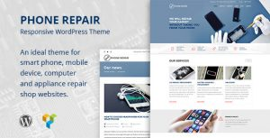 Phone Repair Mobile Cell Phone and Computer Repair WordPress Theme
