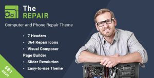 The Repair WordPress Theme Reviw