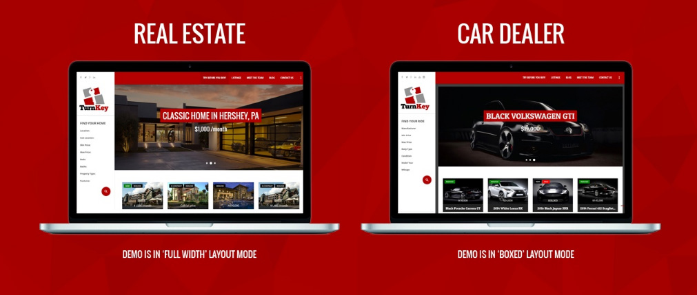 real estate - car dealing wordpress theme