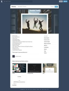 Duckbill Free Tumblr Theme For Travel Blog With Disqus Comments