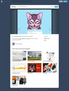 Isometric Theme Tumblr Theme Free Tumblr Theme For Photo Album Website