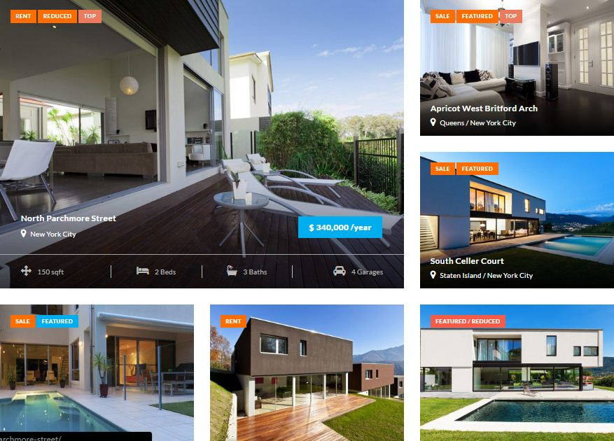 Preston Real Estate Property Management WordPress Theme Review