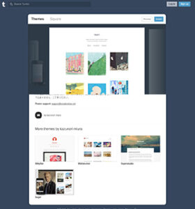 Tumblr Grid Themes Multi-Column Square Tumblr Theme