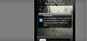 pushover notification plugin