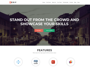 zerif lite wordpress theme tutorial