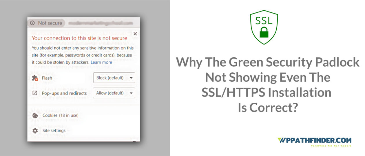 Why is Green Security Padlock Not Showing After Installation of SSL/HTTPS Certificate?
