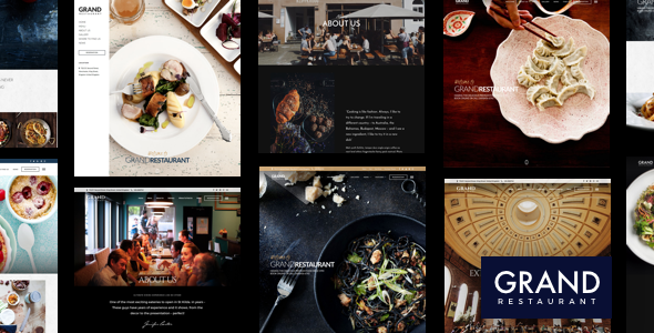 meal delivery wordpress theme