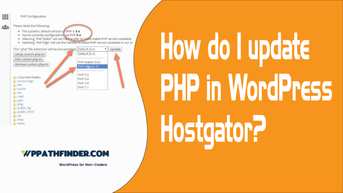 How-do-I-update-PHP-in-WordPress-Hostgator