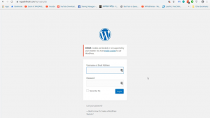 ERROR Cookies are blocked or not supported by your browser You must enable cookies to use WordPress
