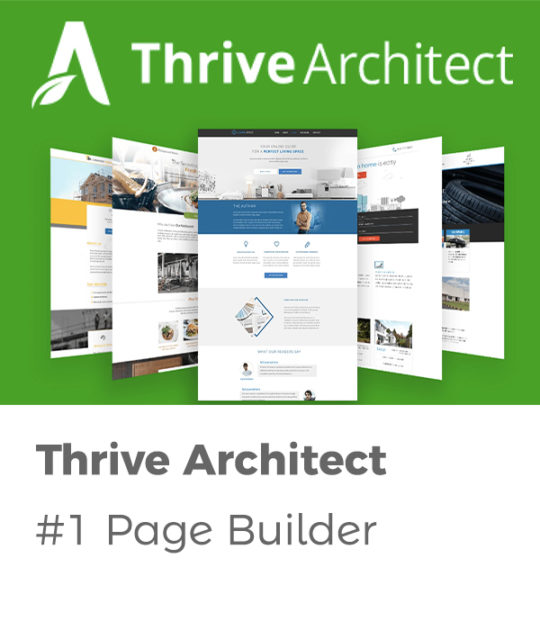 thrive architect tutorial