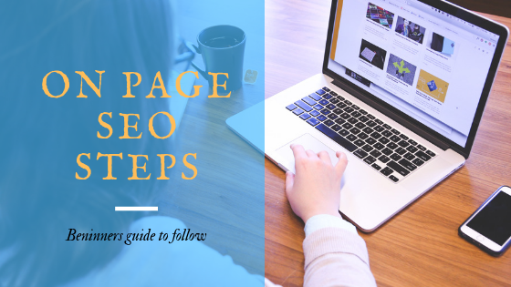 On page seo steps
