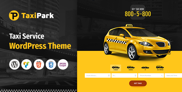 TaxiPark WordPress Theme