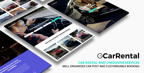 car showroom wordpress theme