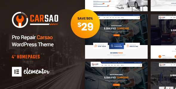 carso wordpress theme