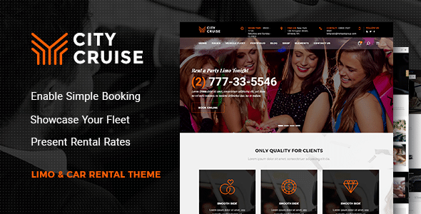 city cruise wordpress theme