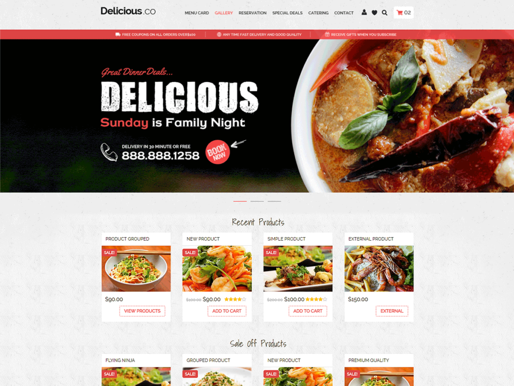 foody free grocery delivery wordpress theme