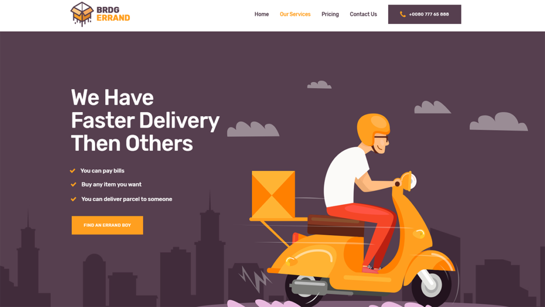 Start a food delivery website wordpress