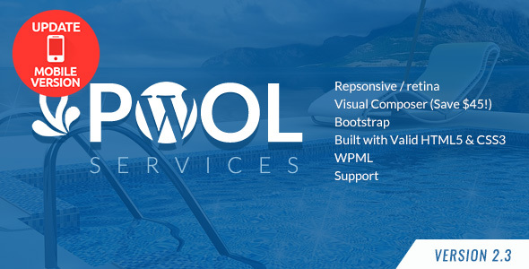 Best Pool Cleaner Service WordPress Theme