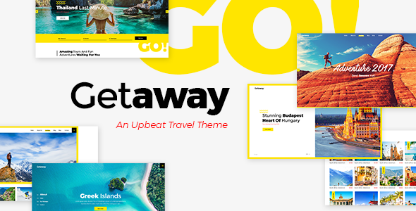 Getaway - Travel & Tourist Attraction WordPress Theme