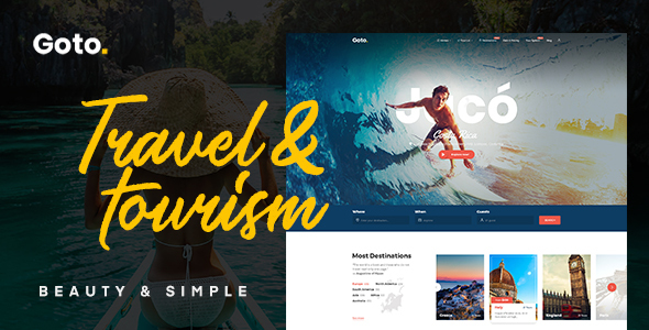 Goto - Ski Lodge - Scuba Diving WordPress Theme