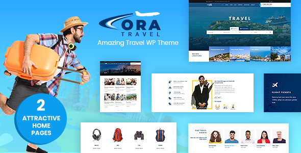 Ora Travel Agency Mountain Biking WordPress Theme