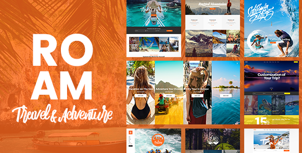 Roam - Travel & Tourism - Local Destination WordPress Theme