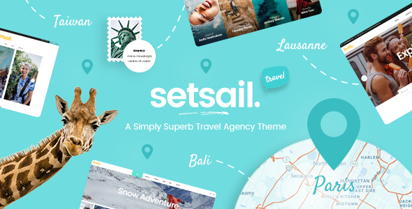 SetSail - Tourist Attractions WordPress Theme
