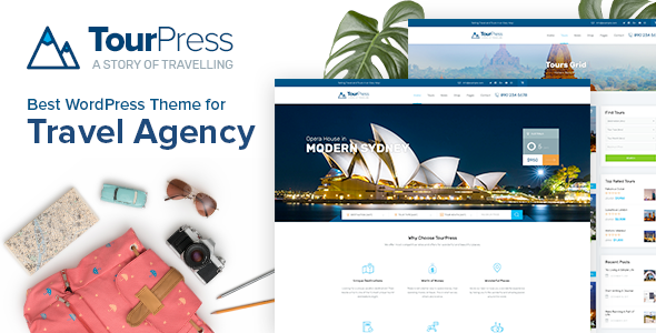 TourPress - Travel News WordPress Theme