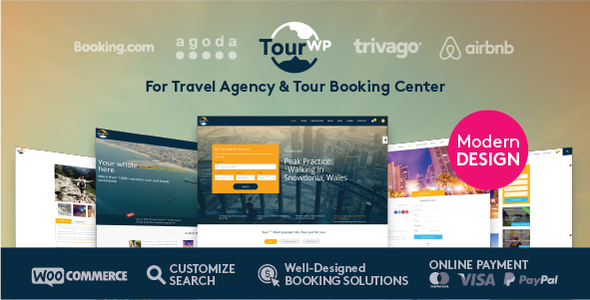TourWP Travel & Tour Management WordPress Theme
