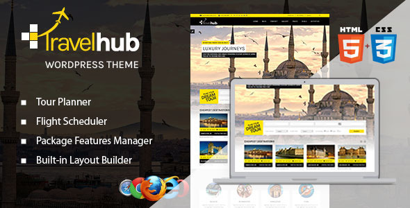 Travelhub - WordPress Travel Theme for Agencies