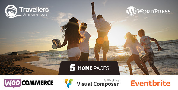 Travellers - Tour & Travels WordPress Theme Like Airbnb