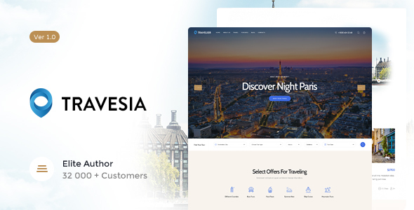 Travesia Mountain Riding WordPress Theme