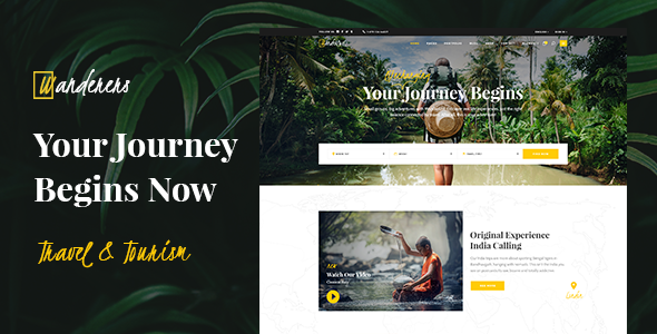 Wanderers - Theme Park Adventure Travel & Tourism Theme