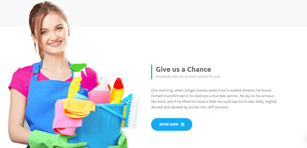 clearing & cleaning service wordpress theme