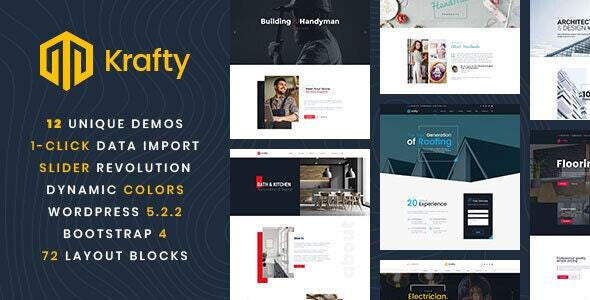 maintenance & repair service WordPress theme list