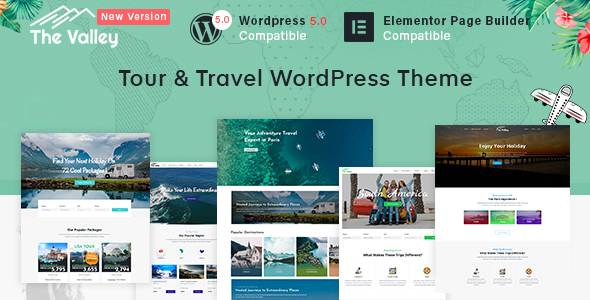 mountaineering wordpress theme download