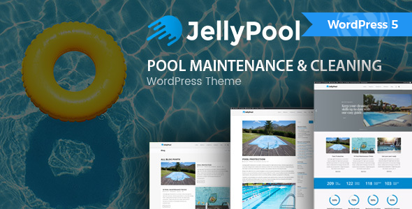 pool repair business wordpress theme