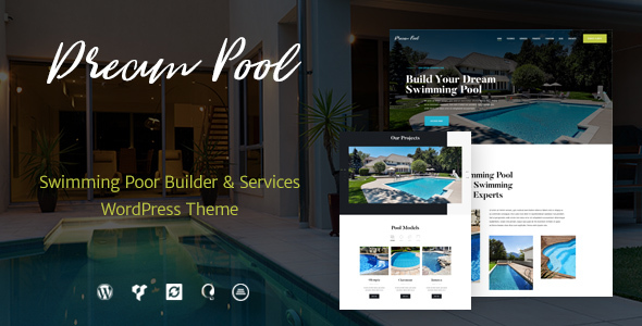 best pool service wordpress theme