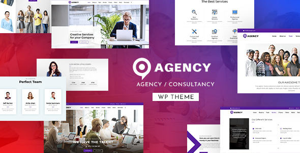 Agency Multipurpose WordPress Theme