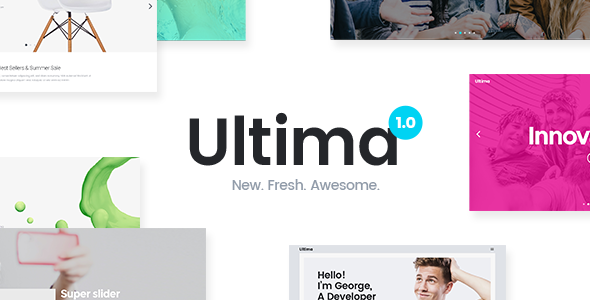 Ultima - Digital Marketing Agency Theme