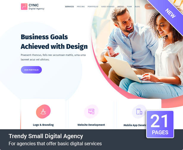 Digital Agency Cynic - Digital Agency WordPress Theme