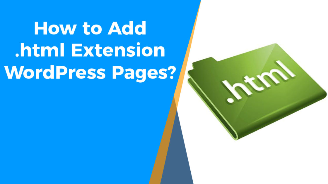 How to Add html extension on WordPress Pages-01