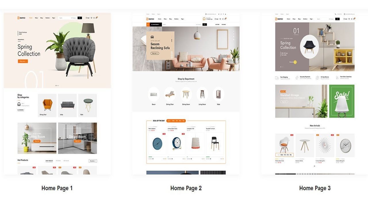 Best Furniture Store WordPress Theme List 2021